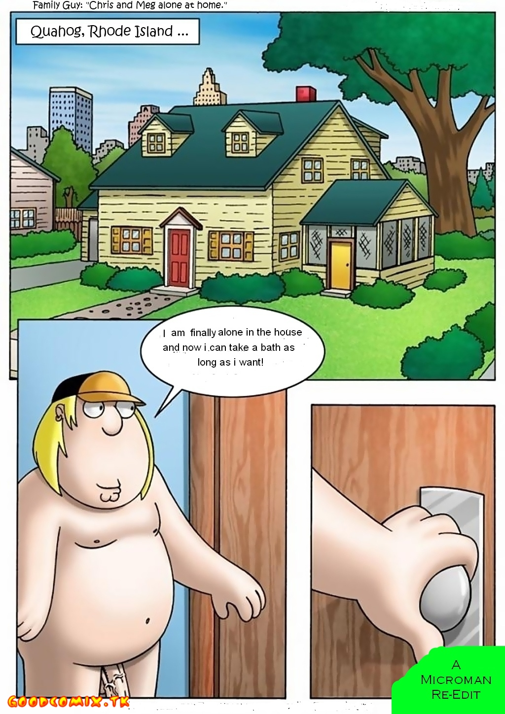 Goodcomix Family Guy - [Drawn-Sex] - Chris and Meg Alone at Home xx porno