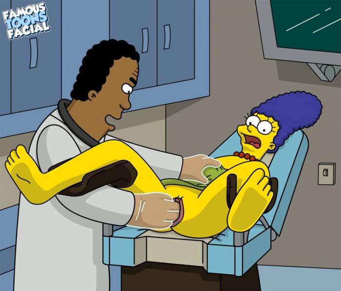 Goodcomix The Simpsons - [Famous Toons Facia] - Dr. Hibbert fucks Marge xxx porno