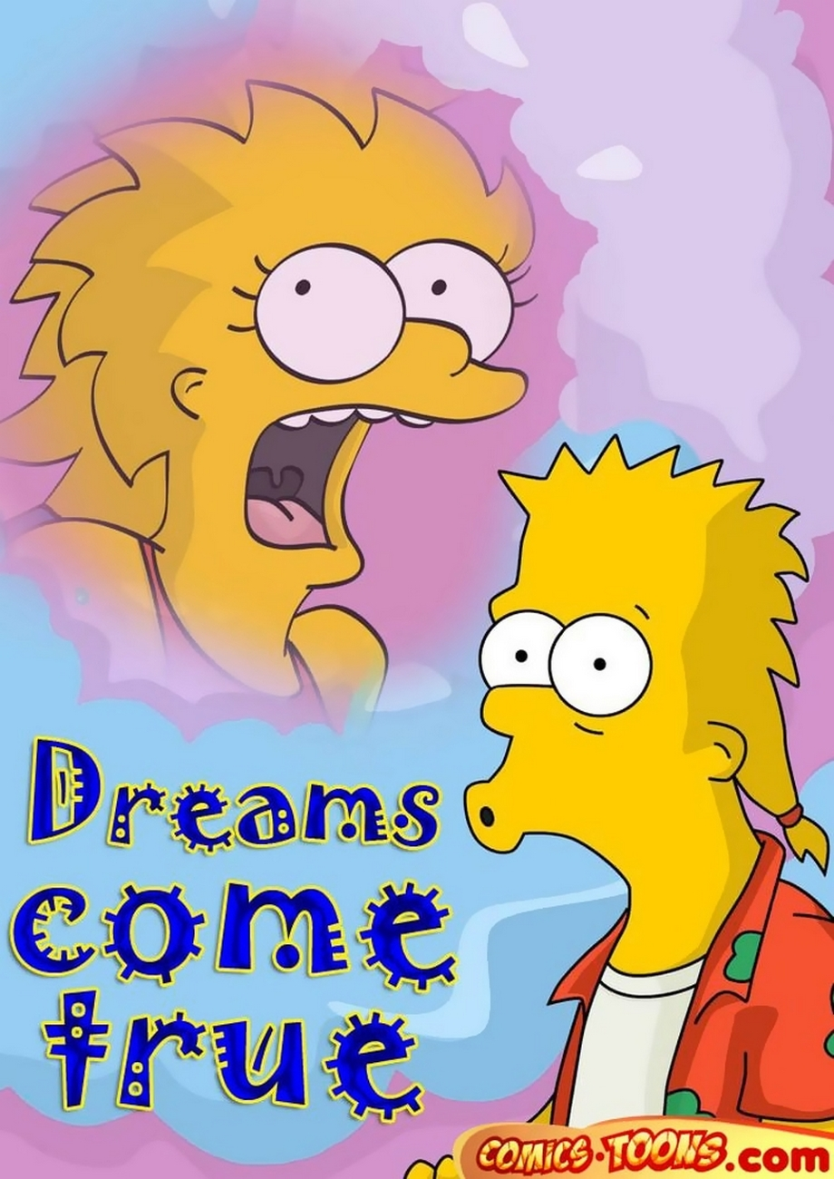 Goodcomix The Simpsons - [Comics-Toons] - Dreams come true xxx porno