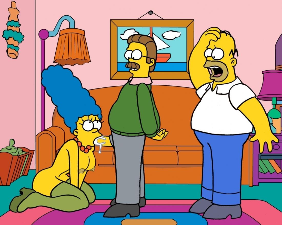 Goodcomix The Simpsons - Flander's Invasion.1 xxx porno