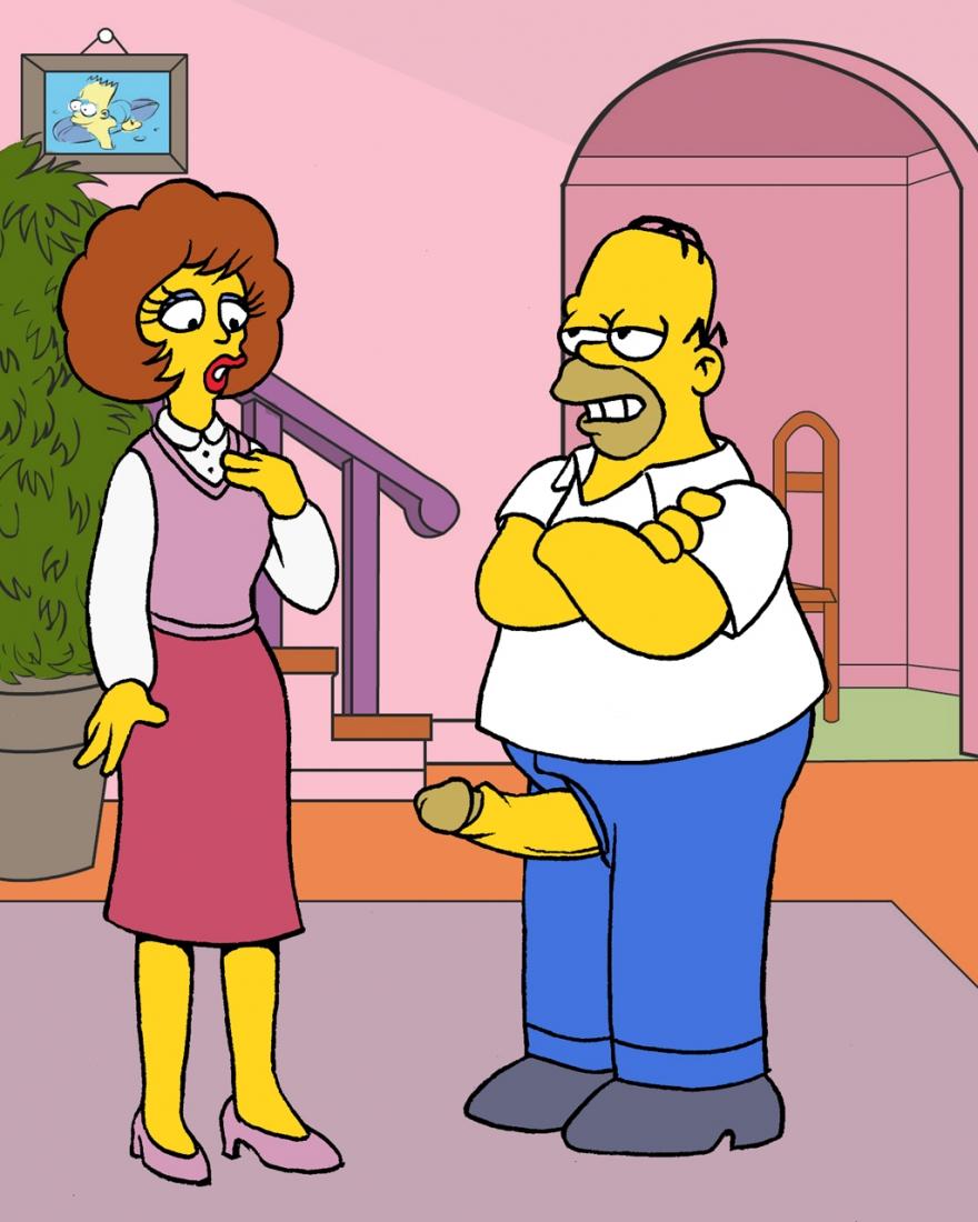 Goodcomix The Simpsons - Flander's Invasion.3 xxx porno