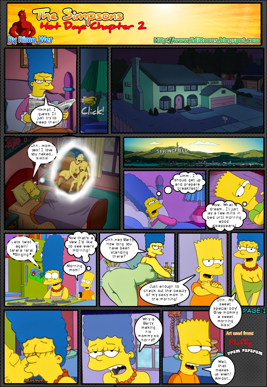 Goodcomix The Simpsons - Hot Days.2 (Unfinished) xxx porno