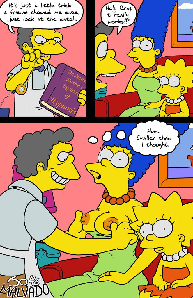 Goodcomix The Simpsons - Hypnosis xxx porno
