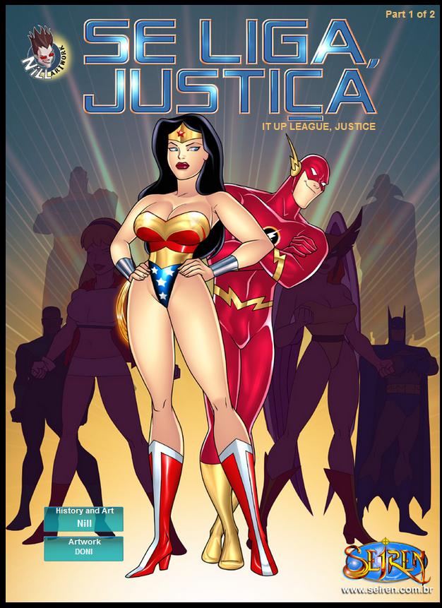 Goodcomix Justice League - Se Liga Justica - It Up League, Justice (Part1&Part2) xxx porno
