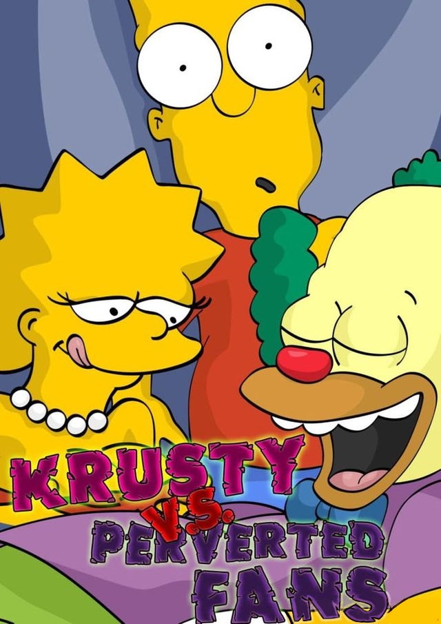 Goodcomix The Simpsons - [Comics-Toons] - Krusty Vs Perverted Fans