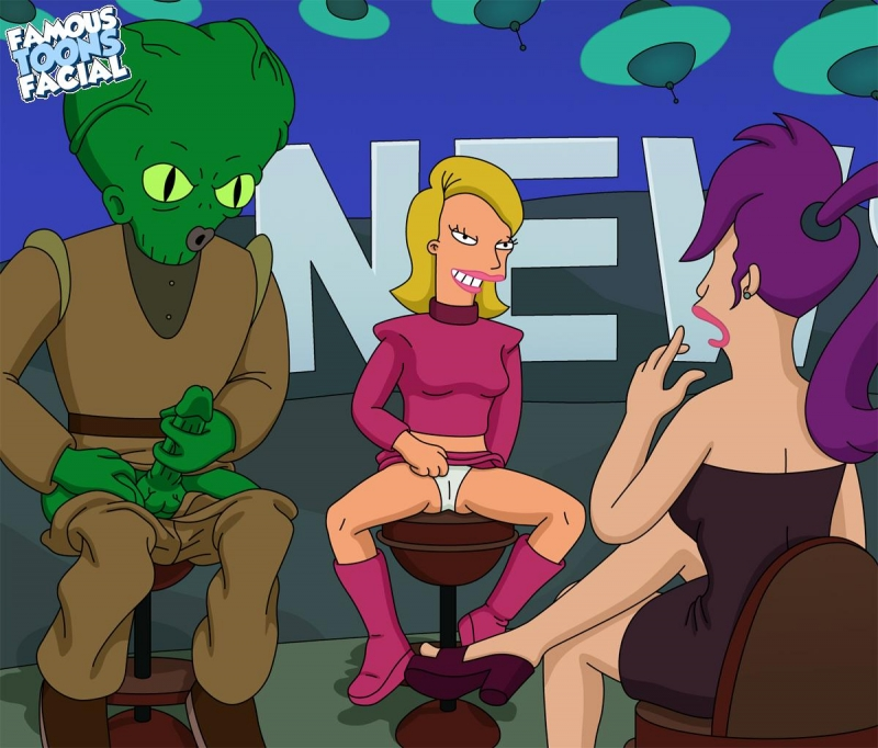 Goodcomix Futurama - Morbo and Linda Fuck Leela xxx porno