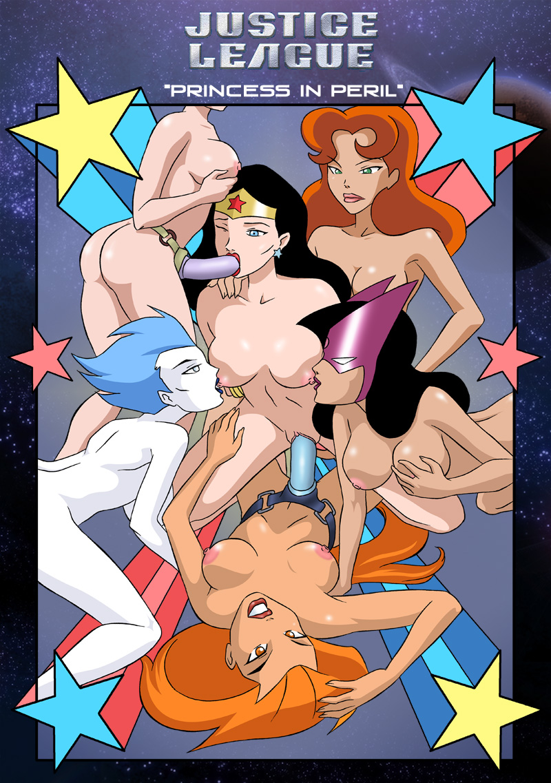 Goodcomix Justice League - Princess in Peril (Wonder Woman) xxx porno