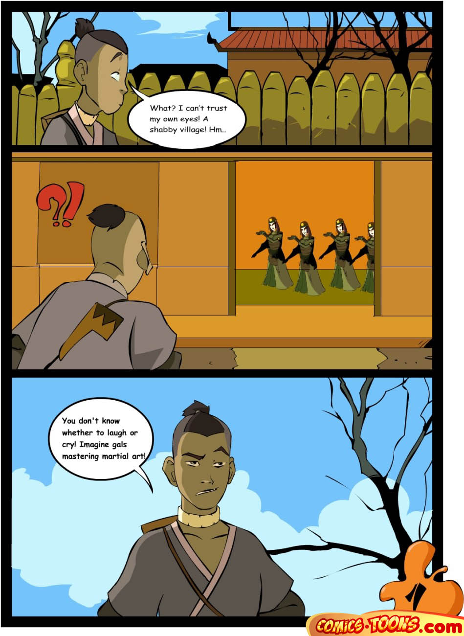 Goodcomix Avatar the Last Airbender - [Comics-Toons][Okunev] - Sex in The School of Fight