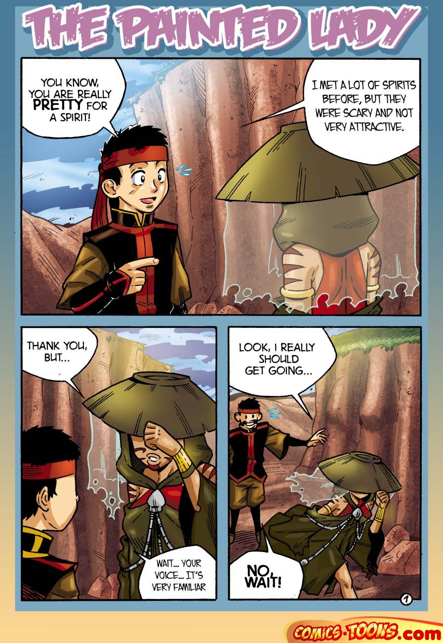 Goodcomix Avatar the Last Airbender - [Comics-Toons] - The Painted Lady xxx porno