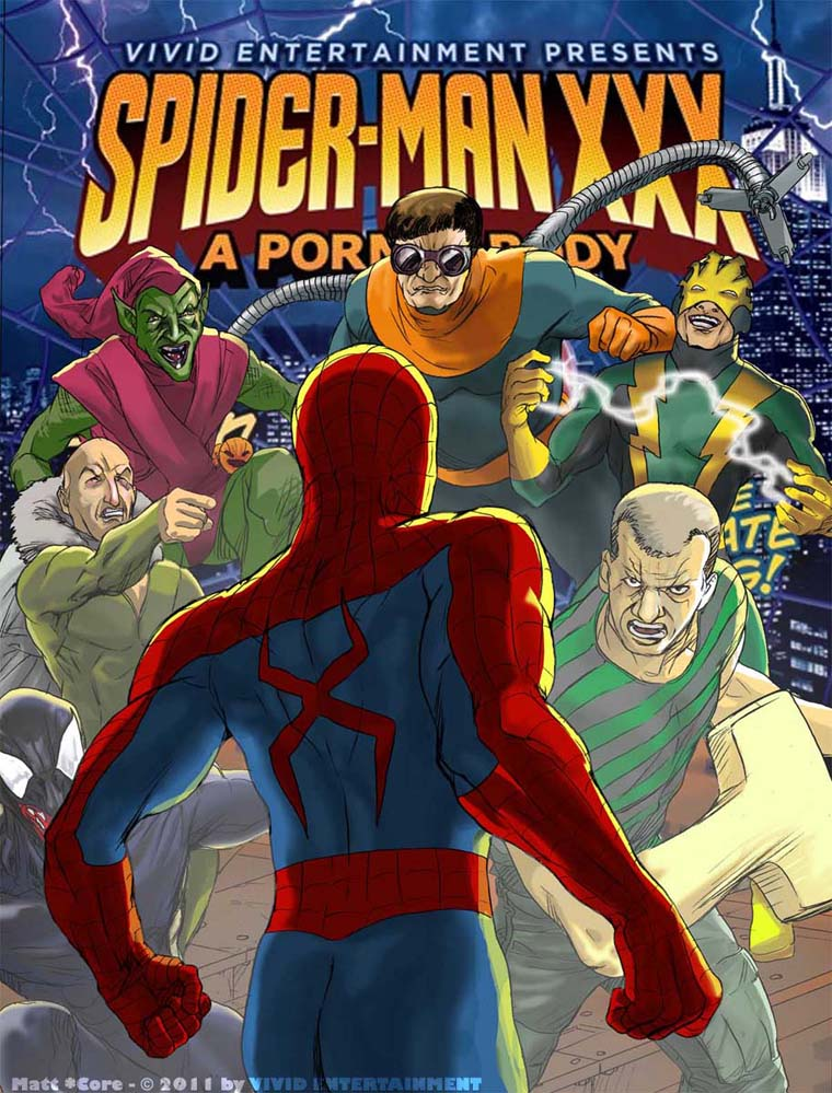 Goodcomix Spider-Man - XXX Parody Comic xxx porno