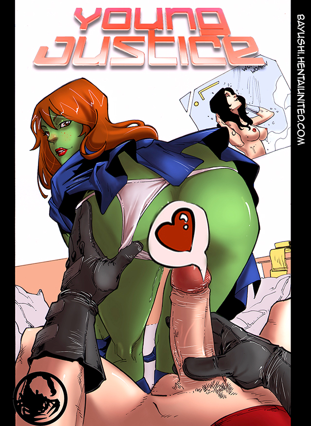 Goodcomix Justice League - The Teen Titans - Young Justice Sex.2 (Megan) xxx porno