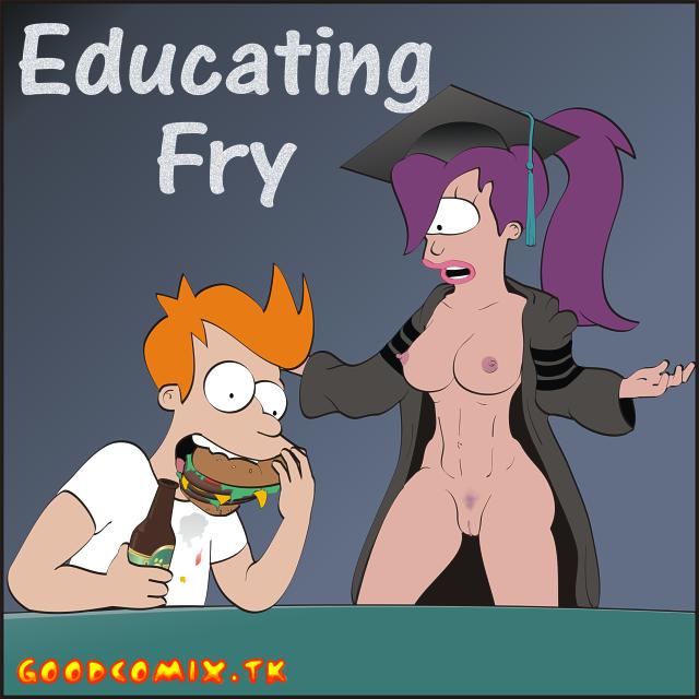 Goodcomix Futurama - Educating Fry xxx porno