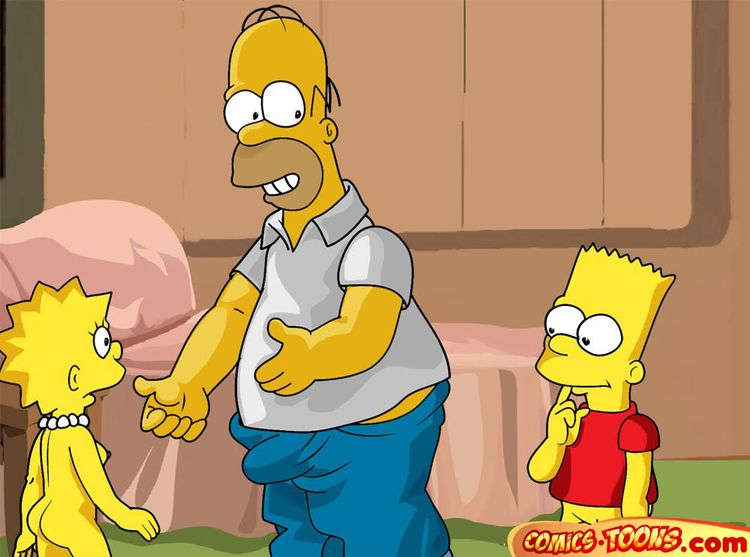 Goodcomix The Simpsons - [Comics-Toons] - Homer Too Wants to Fuck Lisa xxx porno