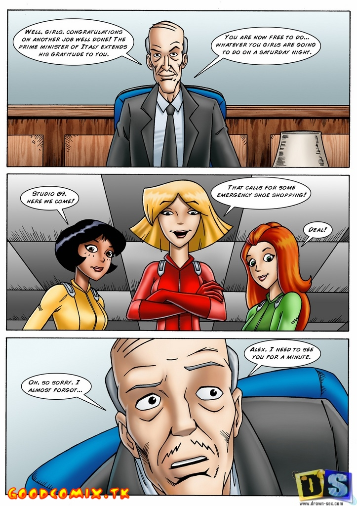Goodcomix Totally Spies - [Drawn-Sex] - A Few Minutes With Alex
