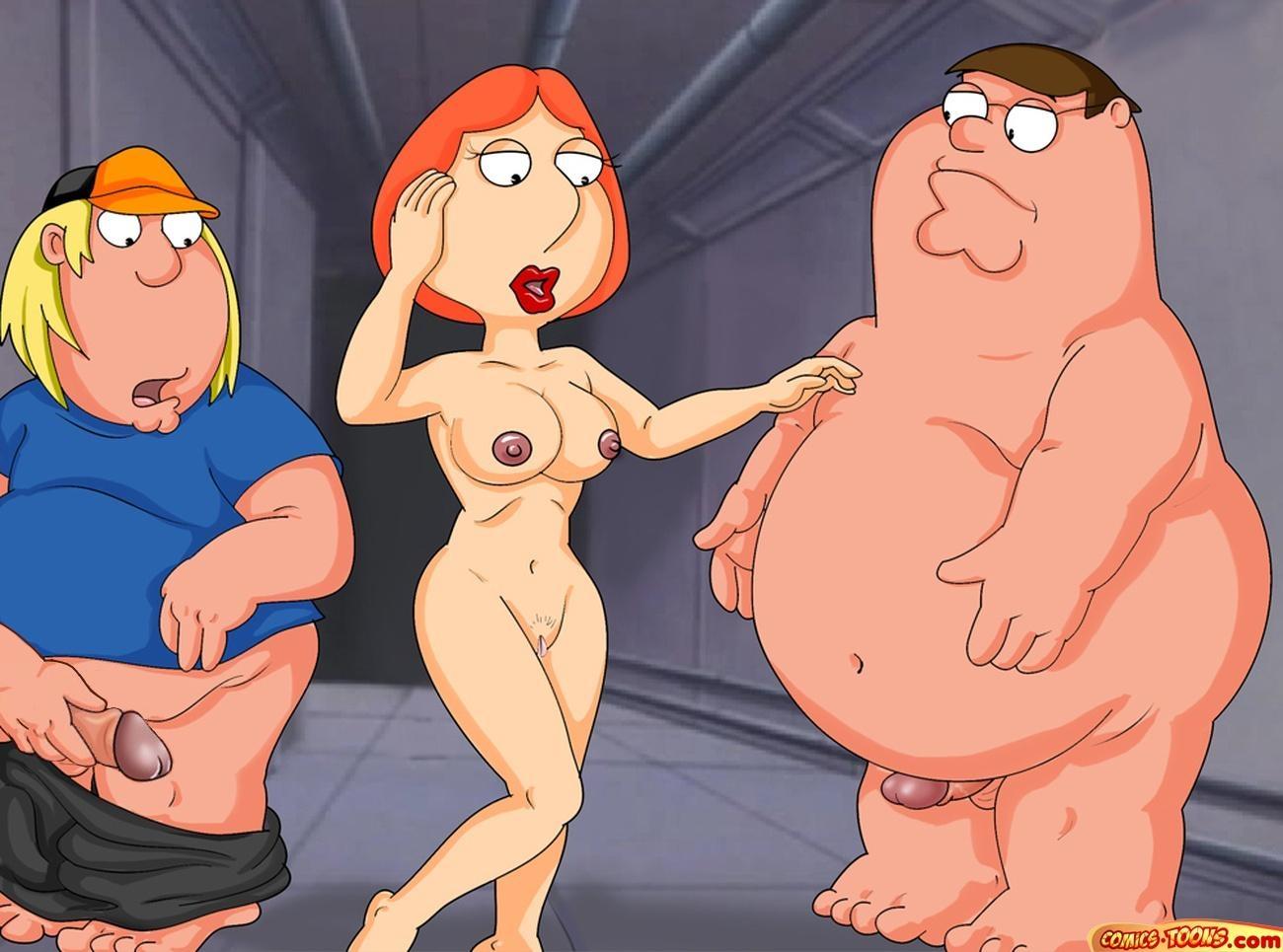 Goodcomix Family Guy - [Comics-Toons] - Chris Piter And Lois Fucks xxx porno