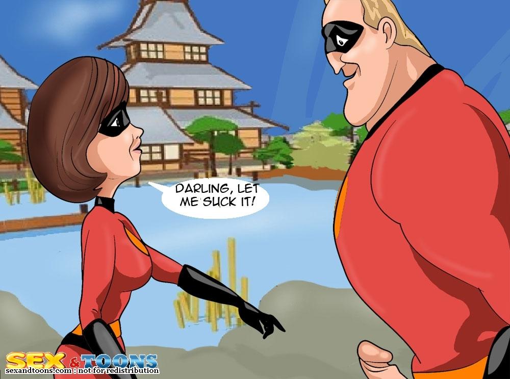 Goodcomix The Incredibles - [Sex & Toons] - Let Me Suck xxx porno