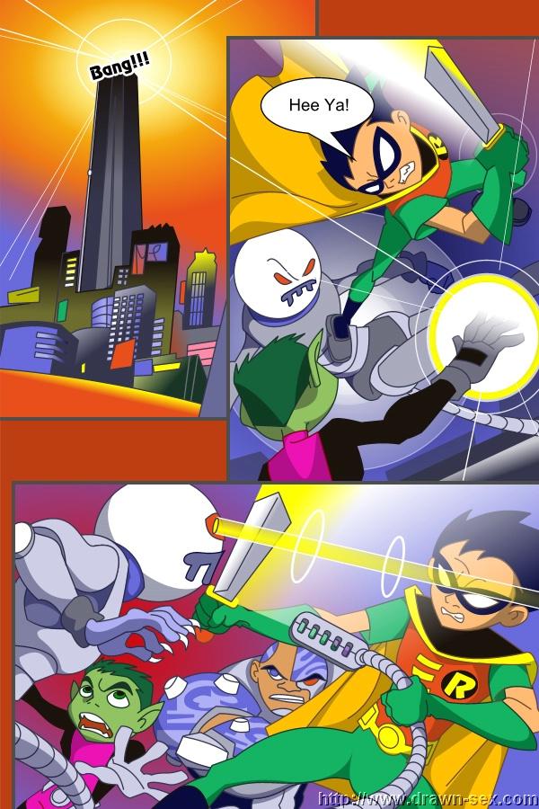 Goodcomix Totally Spies - Teen Titans - [Drawn-Sex] - Lucky Meet