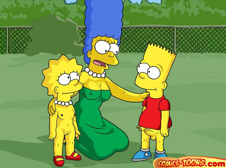 Goodcomix The Simpsons - [Comics-Toons] - Marge Teaches Children to Fuck xxx porno