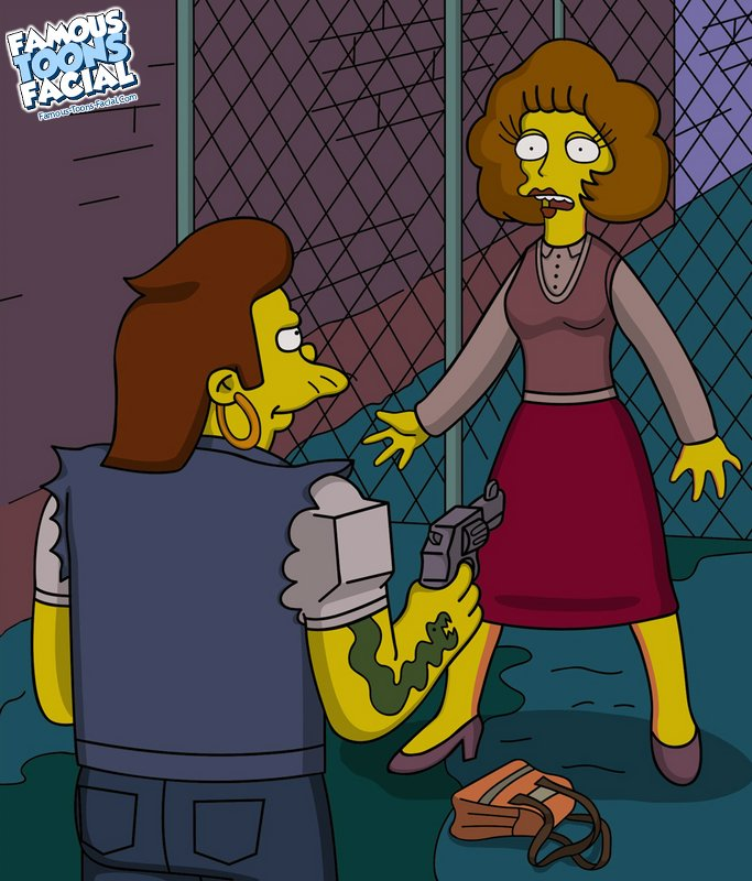 Goodcomix The Simpsons - Snake fucks Maude xxx porno