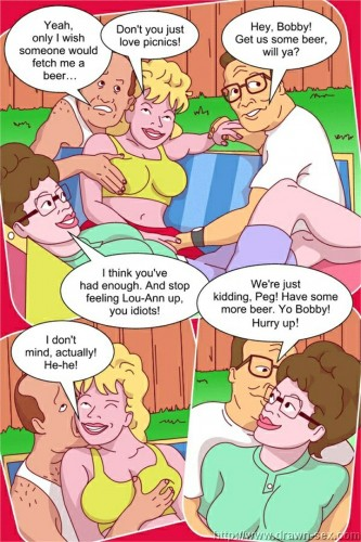 Goodcomix King of The Hill - [Drawn-Sex][Vector] - Gardening Orgy