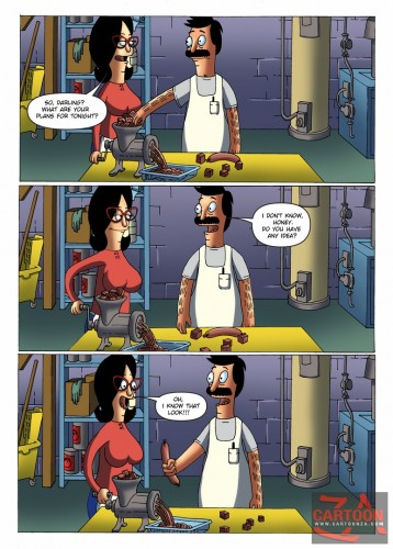 Goodcomix Bob's Burgers - [Cartoonza] - Sausage Husband