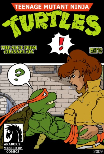 Goodcomix Teenage Mutant Ninja Turtles - [Akabur] - The Slut From Channel Six Part 2 xxx porno