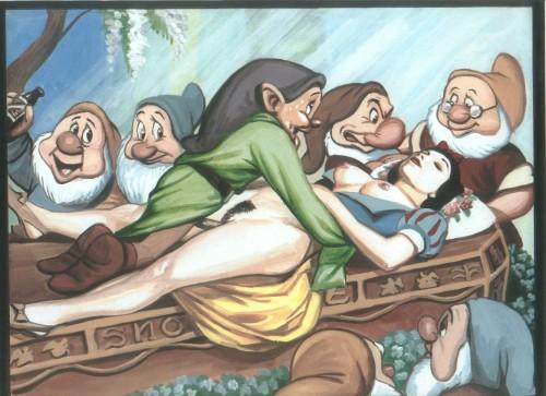 Goodcomix Snow White - [Pandora Box] - xXxSnow xxx porno