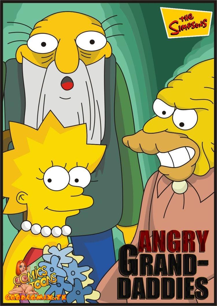 Goodcomix The Simpsons - [Comics-Toons] - Angry Grand-Daddies