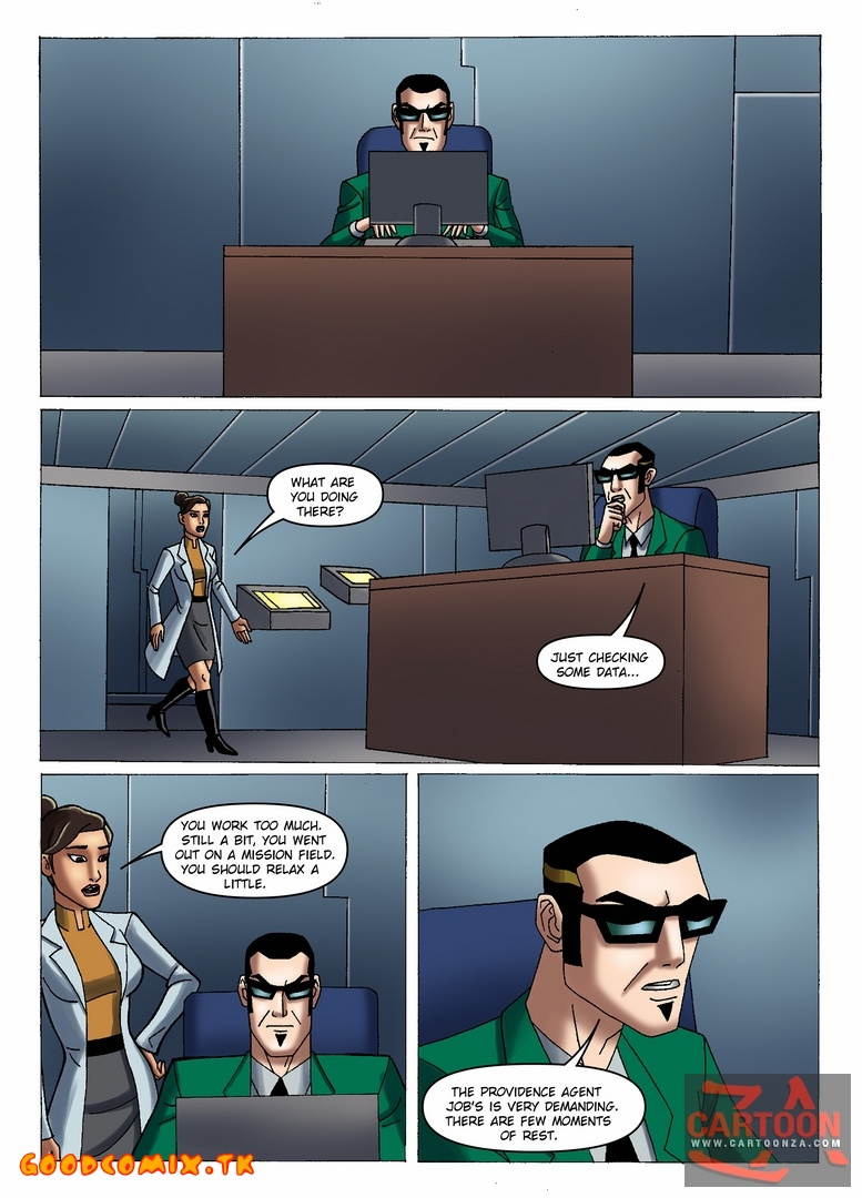 Goodcomix Generator Rex - [Cartoonza] - Doctor Rebecca Holiday at Work