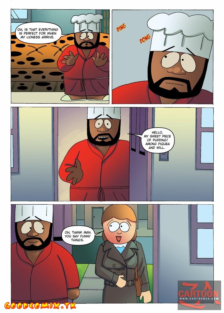 Goodcomix South Park - [Cartoonza] - Chief Fucks With Liane Cartman