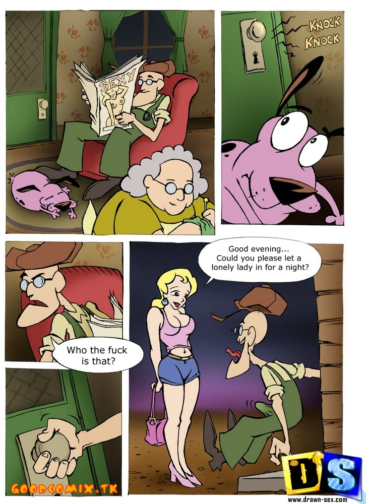 Goodcomix Courage - The Cowardly Dog - [Drawn-Sex] - Courage - The Cowardly Dog
