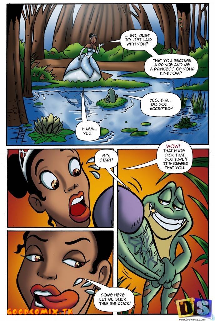 Goodcomix The Princess and The Frog - [Drawn-Sex] - Frog Liar xxx porno