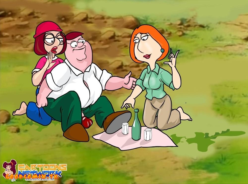 Goodcomix Family Guy - [Cartoons Network] - Nature and Alcohol