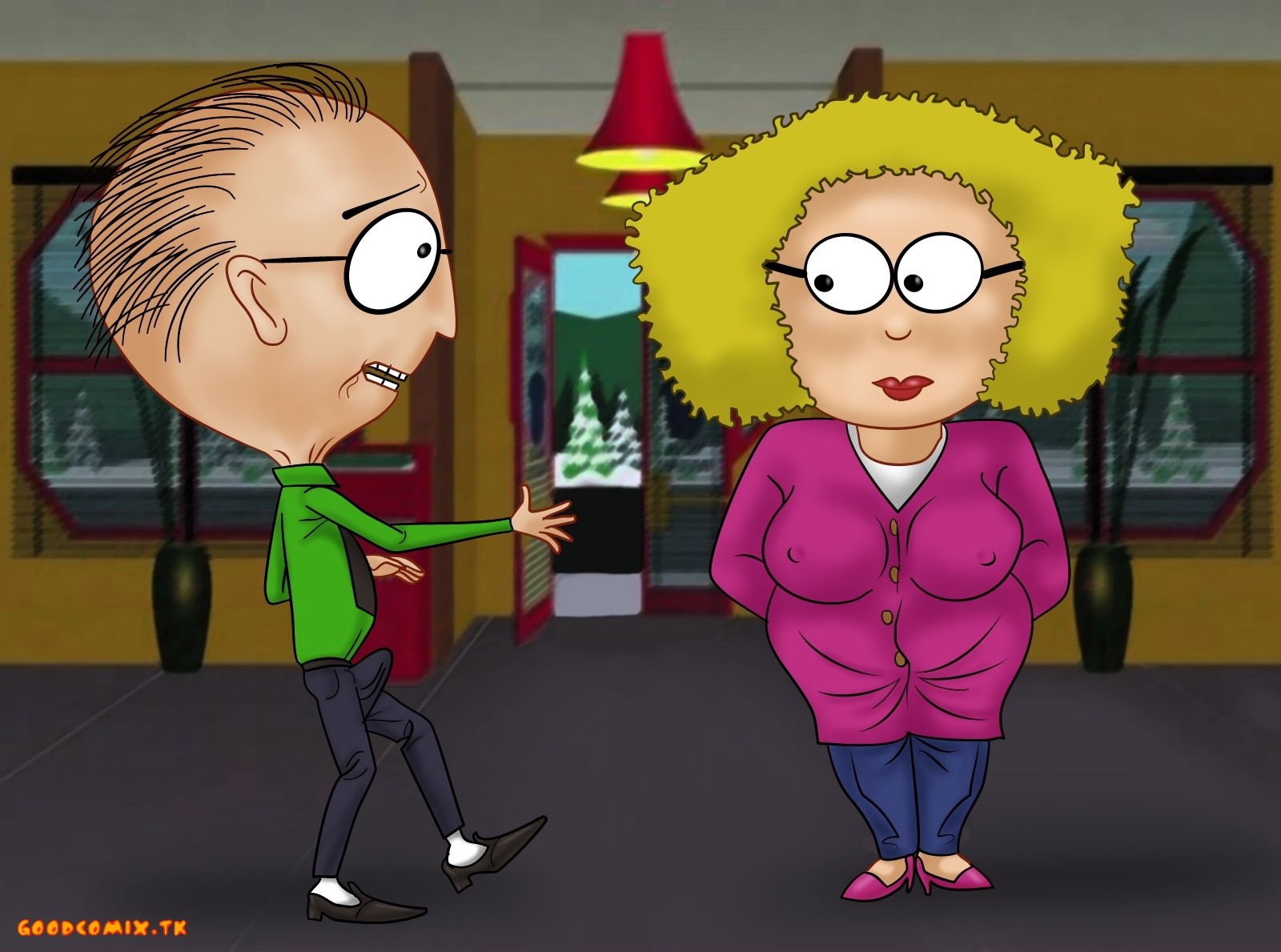 Goodcomix South Park - [XL-Toons] - Scene At The School
