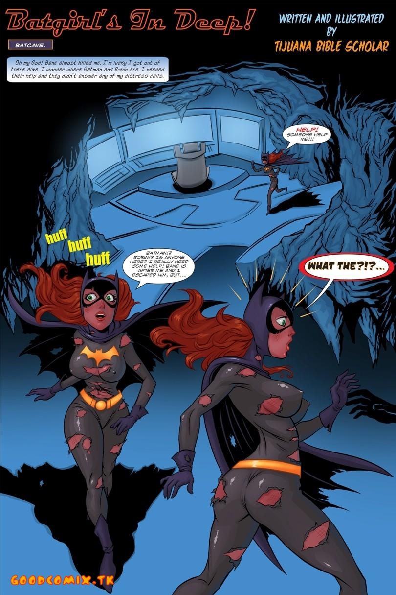 Batgirl nude having sex