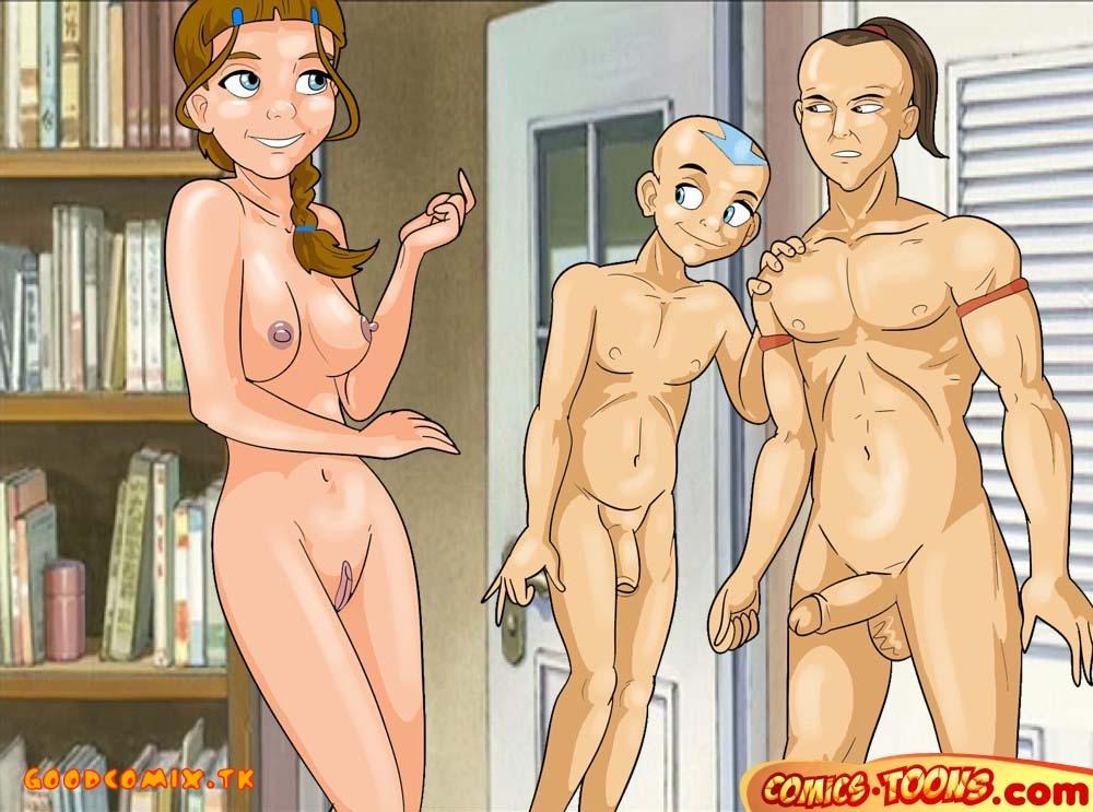 Goodcomix Avatar the Last Airbender - [Comics-Toons] - Morning Sex