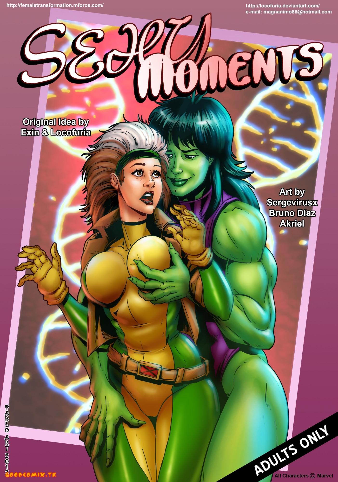 Goodcomix X-Men - [Locofuria] - Sexy Moments