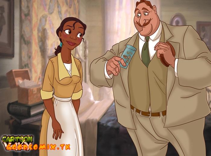 Goodcomix The Princess and The Frog - [CartoonValley][TitFlaviy] - Wonderful Big Dick For A Beautiful Princess Tiana