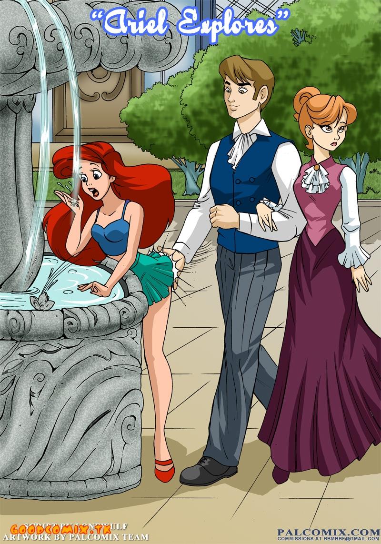Goodcomix The Little Mermaid - [Palcomix] - Ariel Explores