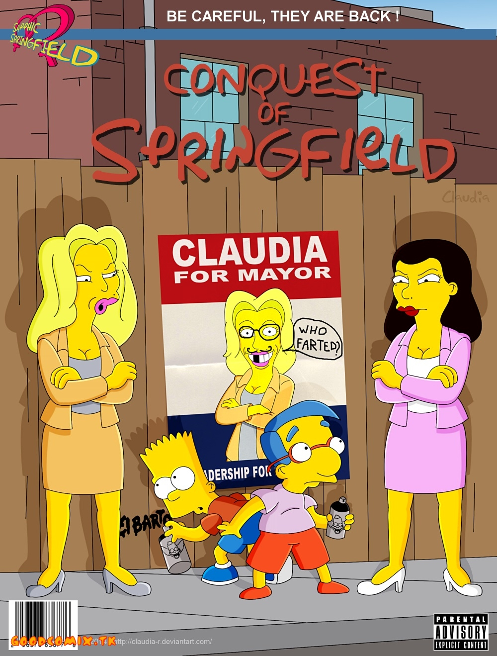Goodcomix Simpsons - [Claudia-R(Riviera)] - 2 - Conquest Of Springfield