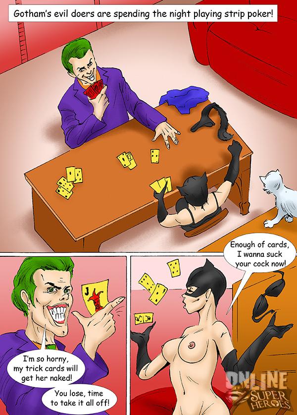Goodcomix Batman - [Online SuperHeroes] - Catwoman And Joker Comic