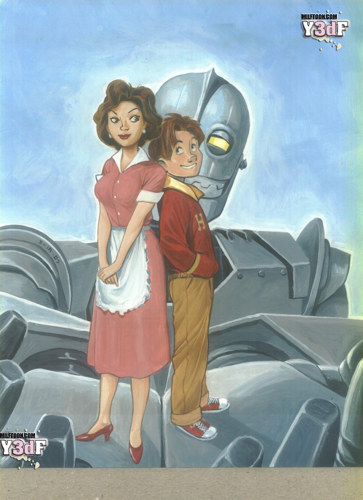 Goodcomix The Iron Giant - [Milftoon] - Iron Giant 1 -  Momy
