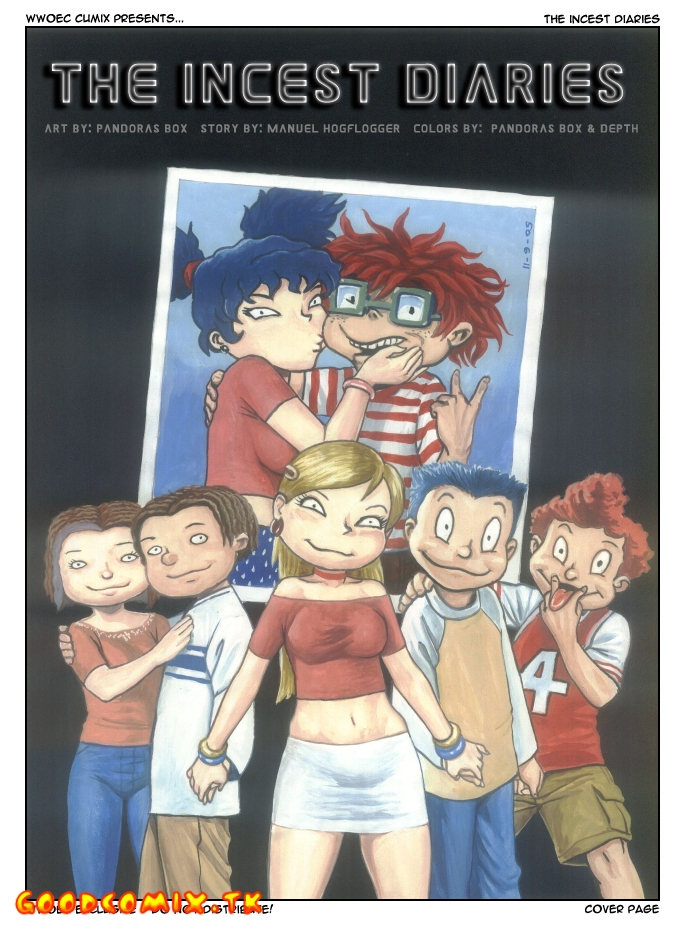 Goodcomix All Grown Up - [Pandoras Box] - Up The Incest Diaries