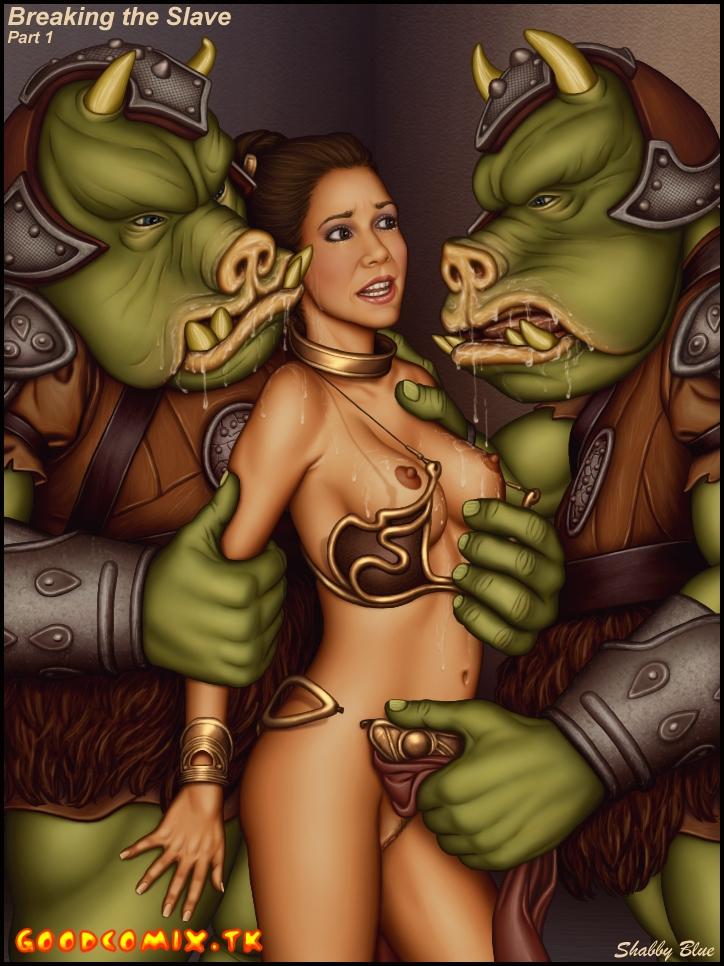 Goodcomix Star Wars - [Shabby Blue] - Breaking The Slave - Vol2 (Movie)