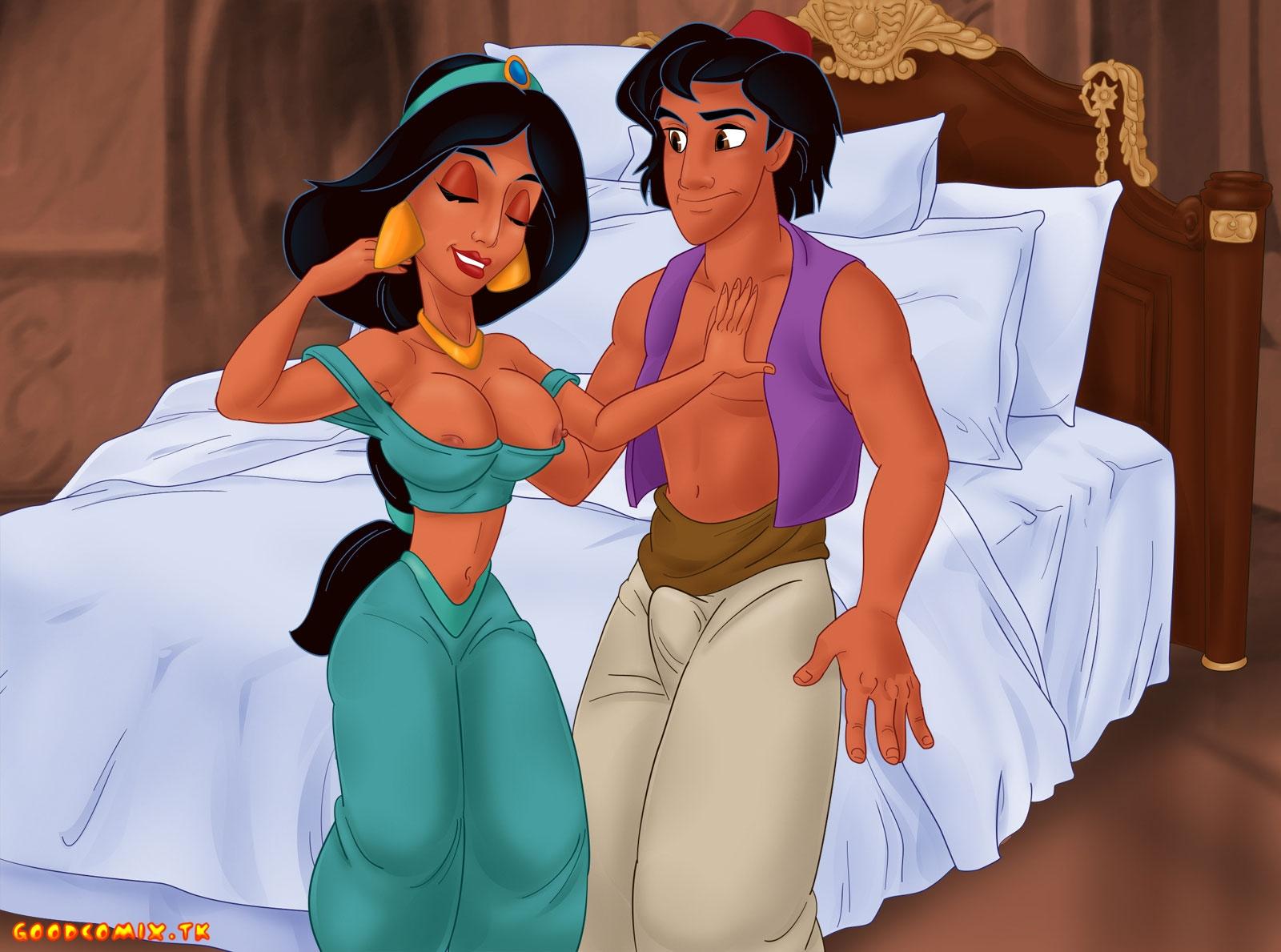Goodcomix Aladdin - [TitFlaviy] - Family Eastern Sex