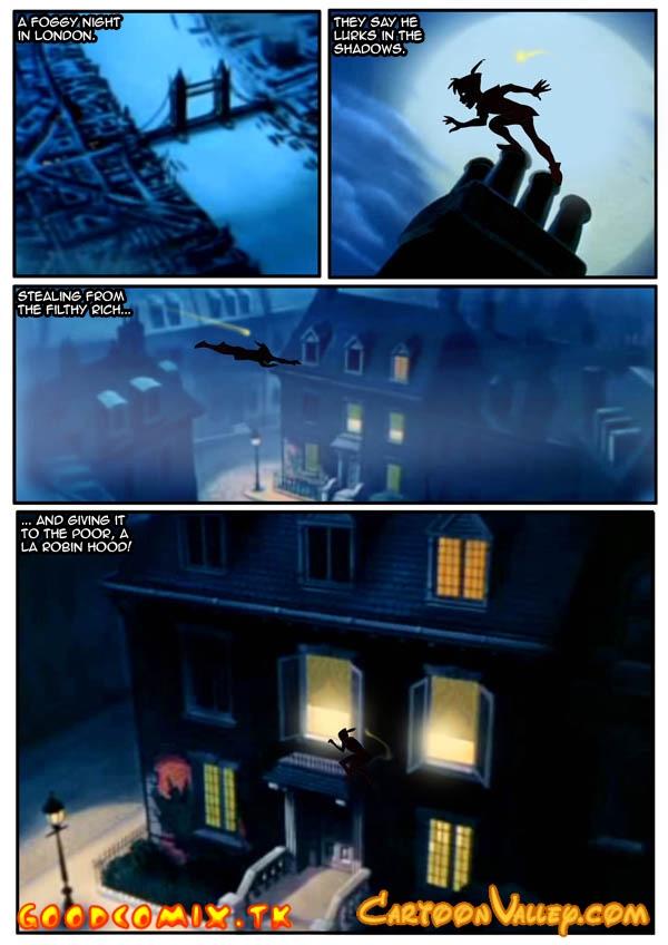 Goodcomix Peter Pan - [Cartoon Valley] - Night Visit