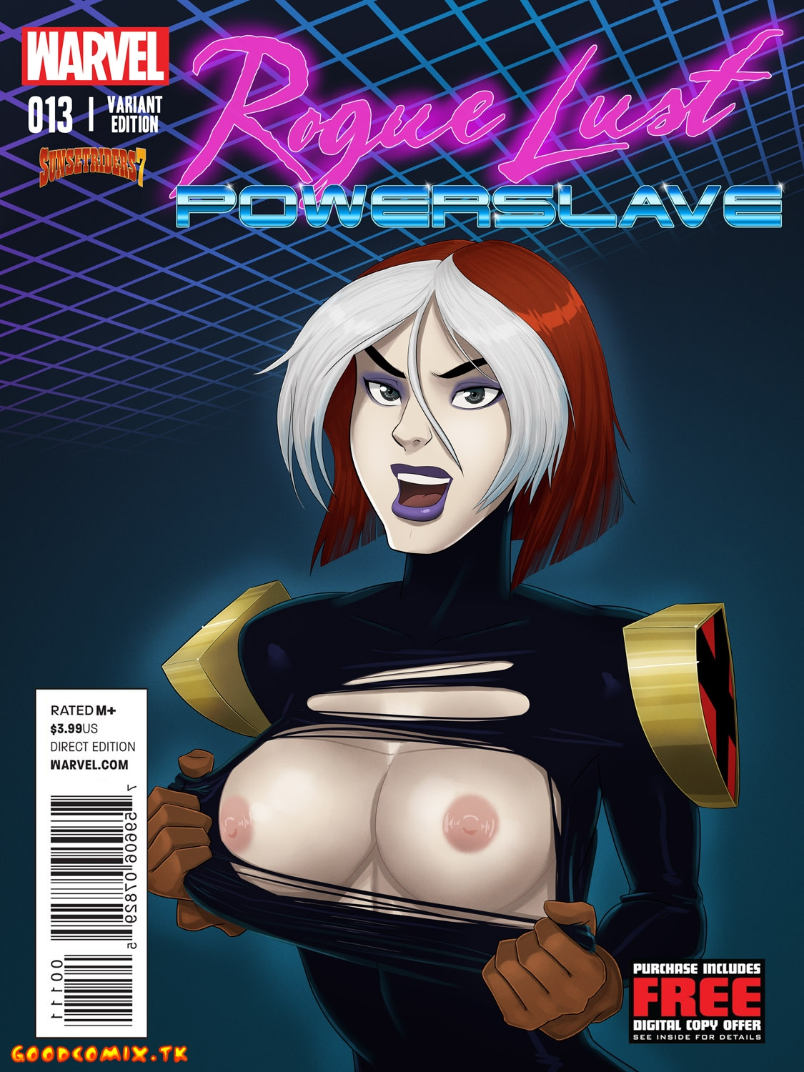 Goodcomix X-Men - [SunsetRiders7] - Rogue Lust Powerslave