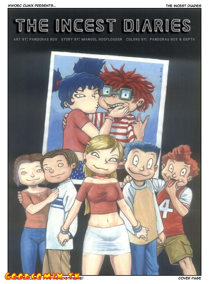 Goodcomix All Grown Up - [Pandoras Box] - Up The Incest Diaries (Original)