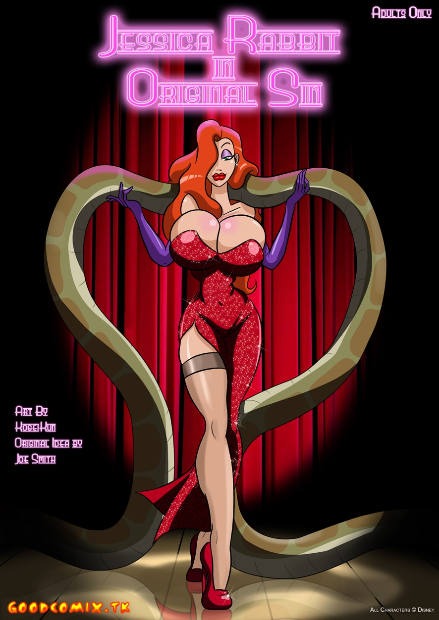 Goodcomix Who Censored Roger Rabbit - Jessica Rabbit In Original Sim
