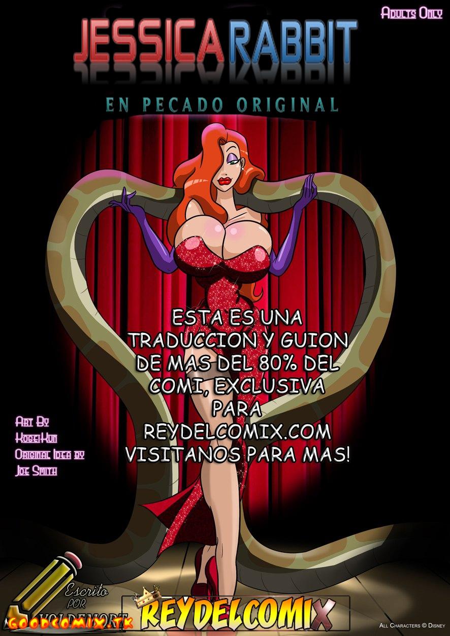 Goodcomix Who Framed Roger Rabbit - [Kogeikun] - Jessica Rabbit In Originale Sim
